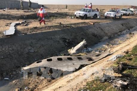 Tìm thấy hộp đen thứ hai của máy bay Ukraine rơi tại Iran
