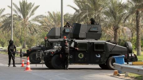 2 quả tên lửa rơi trúng vùng Xanh thủ đô Baghdad, Iraq