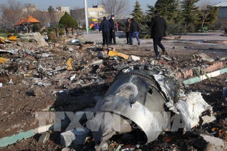 Thông tin điều tra sơ bộ vụ máy bay Ukraine rơi tại Iran