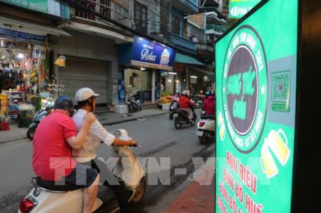 Hà Nội xuất hiện dịch vụ gọi xe cho người uống bia rượu