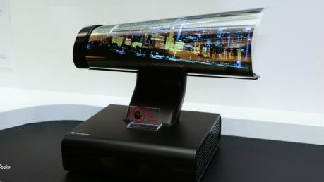 LG Electronics sẽ sớm mở bán TV màn hình cuộn