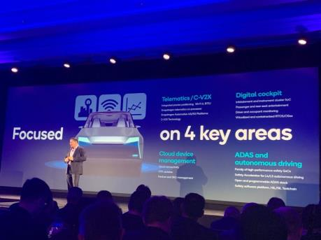Qualcomm ra mắt nền tảng lái xe tự động mới