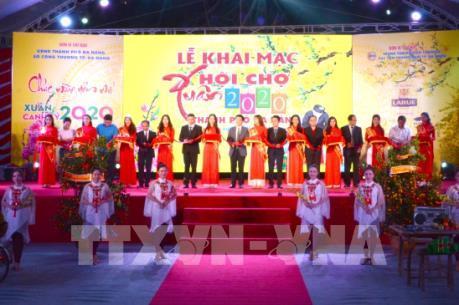 Khai mạc hội chợ xuân 2020 tại Đà Nẵng