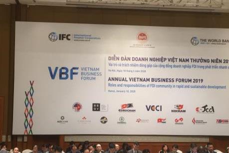 Khai mạc Diễn đàn doanh nghiệp Việt Nam thường niên 2019