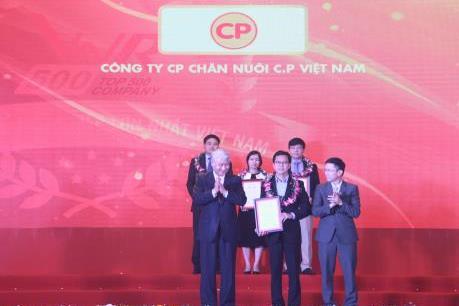C.P. Việt Nam đứng thứ nhất trong lĩnh vực thức ăn chăn nuôi