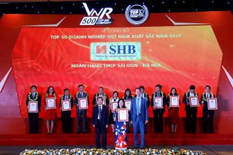 SHB liên tiếp xuất hiện trong các bảng xếp hạng lớn