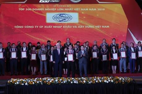 Vinaconex vào Top 3 doanh nghiệp xây dựng lớn nhất Việt Nam