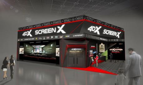 """Hàn Quốc """"trình làng"""" màn hình đa chiều 4DX tại CES 2020"""