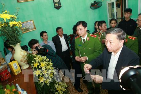 Truy tặng Huân chương Chiến công hạng nhất cho 3 chiến sỹ hy sinh trong vụ việc ở Đồng Tâm