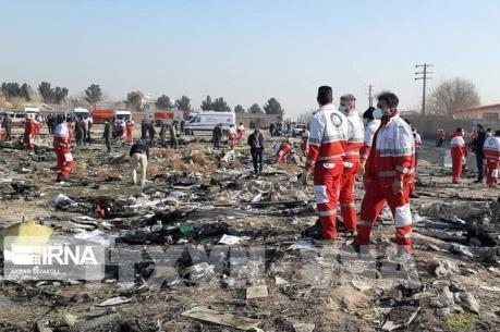 Iran bắt giữ một số nhân vật liên quan đến vụ máy bay rơi của Ukraine