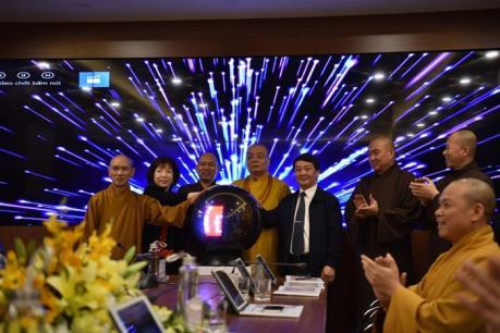 Trung tâm điều hành điện tử Giáo hội Phật giáo Việt Nam đi vào hoạt động