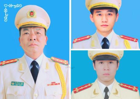 Bộ Công an thông báo về Lễ tang 3 chiến sỹ Công an hy sinh trong vụ việc tại Đồng Tâm