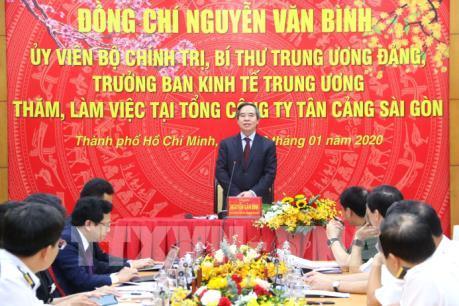 Tân Cảng Sài Gòn tập trung phát triển cảng biển, logistics, vận tải biển