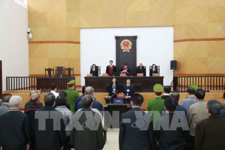 Xét xử hai nguyên lãnh đạo TP Đà Nẵng: Bị cáo Trần Văn Minh bị tuyên phạt 17 năm tù