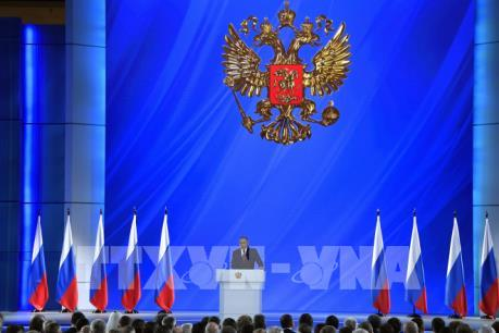 """Bức Thông điệp Liên bang """"hợp lòng dân"""" của Tổng thống V. Putin"""