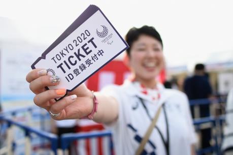 Công bố các mẫu vé Olympic và Paralympic Tokyo 2020