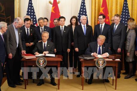 Công ty công nghệ cao Trung Quốc, Mỹ hoan nghênh thỏa thuận thương mại giai đoạn 1