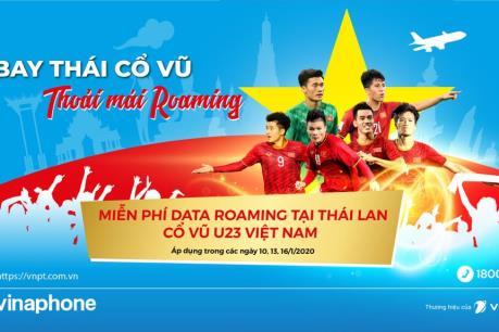 Ngày 16/1, thuê bao VinaPhone tới Thái Lan được miễn phí Data Roaming