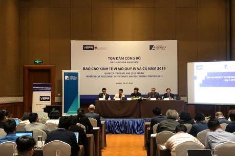 VEPR: Sẽ phải nỗ lực để đạt mục tiêu tăng trưởng kinh tế - xã hội năm 2020