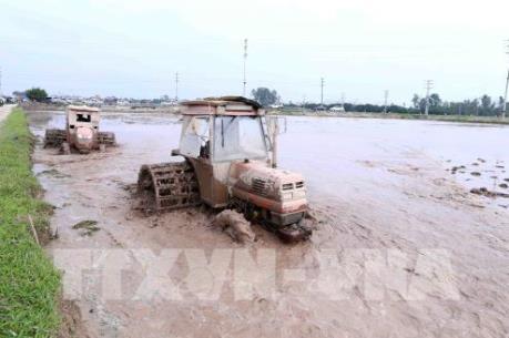 Tỷ lệ lấy nước vụ Xuân của một số địa phương ở Hà Nội đạt thấp