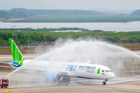 Bamboo Airways khai thác máy bay Boeing 787-9 Dreamliner chặng TP HCM-Thanh Hóa