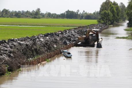Dự báo về xâm nhập mặn ở đồng bằng sông Cửu Long