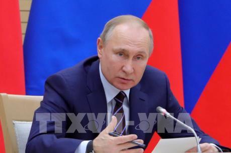 Tổng thống Nga trình quốc hội văn kiện sửa đổi Hiến pháp