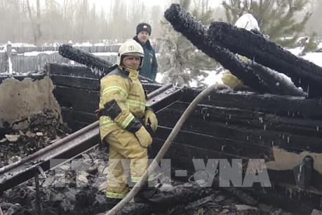 Nguyên nhân vụ cháy nhà tại Nga khiến 11 người thiệt mạng
