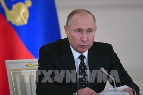Tổng thống Nga Vladimir Putin thông qua danh sách chính phủ mới