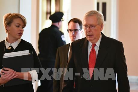 Thượng viện Mỹ chặn kiến nghị thu thập bằng chứng trong phiên luận tội Tổng thống