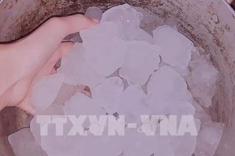 Cao Bằng trải qua trận mưa đá lớn kỷ lục