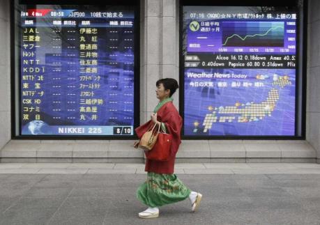 Chứng khoán Á-Âu diễn biến trái chiều trước lo ngại dịch viêm phổi cấp
