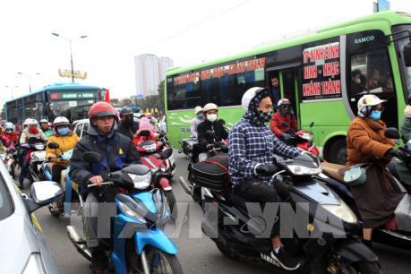 Các cửa ngõ Thủ đô ùn tắc sau kỳ nghỉ Tết Canh Tý 2020