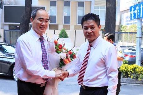 Bí thư Thành Ủy Tp.HCM thăm và chúc Tết Công ty Du lịch Vietravel