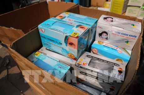 Lạng Sơn thu giữ số lượng lớn khẩu trang không hóa đơn chứng từ