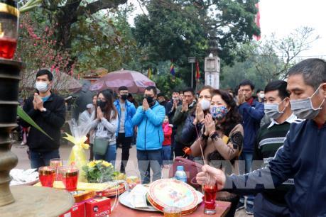 Nam Định dừng tổ chức Lễ hội Khai ấn đền Trần để phòng, chống dịch bệnh nCoV