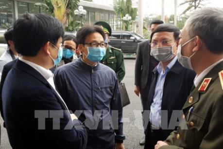 Phó Thủ tướng kiểm tra phòng, chống dịch do virus Corona tại Quảng Ninh