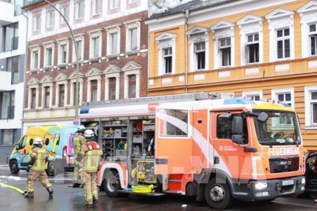 Đức: Cháy khu nhà do người Việt sở hữu, 12 người bị thương