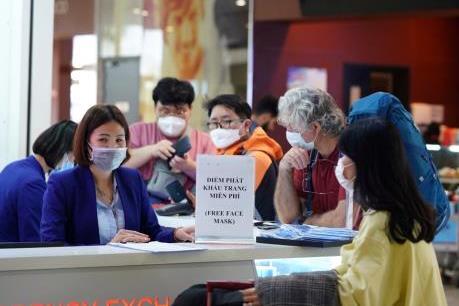 Phòng dịch virus Corona tại sân bay quốc tế Nội Bài
