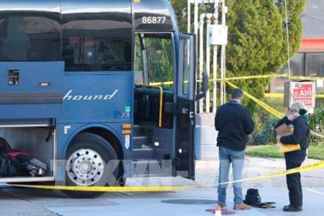 Xả súng trên xe buýt tại Mỹ, 6 người bị thương