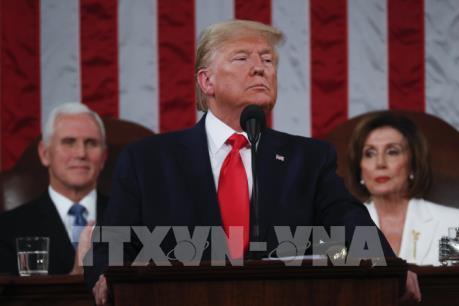 """""""Sự trở lại của nước Mỹ vĩ đại"""" trong Thông điệp Liên bang của Tổng thống Trump"""