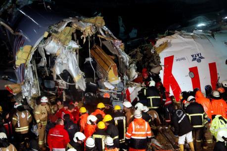 Thổ Nhĩ Kỳ: Máy bay trượt khỏi đường băng làm 1 người chết, 157 người bị thương