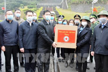 Chia sẻ khó khăn với các địa phương của Trung Quốc trước dịch do virus Corona