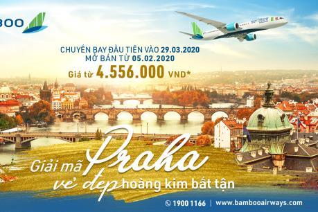 Bay thẳng Việt Nam – Séc giá từ hơn 4,5 triệu đồng với Bamboo Airways
