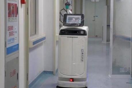 Dịch do virus Corona: Trung Quốc đưa robot khử trùng đến bệnh viện ở Vũ Hán