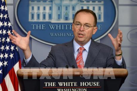 Tổng thống Mỹ: Ông Mulvaney tiếp tục làm Chánh Văn phòng Nhà Trắng