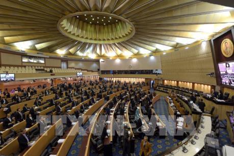 Hạ viện Thái Lan họp phiên đặc biệt thông qua lại ngân sách tài khóa 2020