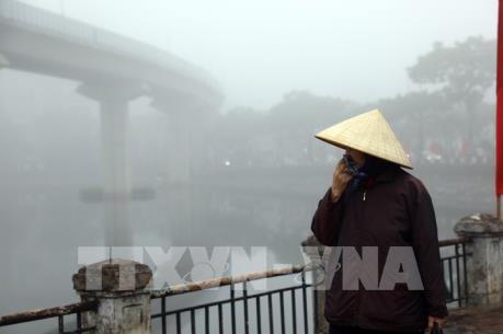 Cuối tuần, không khí lạnh gây rét đậm tại Hà Nội