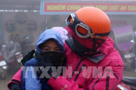 Từ ngày 8-14/2, Bắc Bộ và Bắc Trung Bộ mưa rét, có nơi rét đậm, rét hại