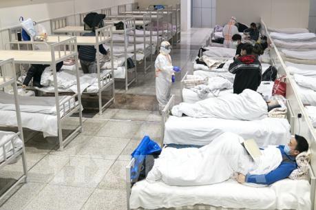 Dịch do virus Corona: Thêm bệnh viện dã chiến tại Vũ Hán đi vào hoạt động